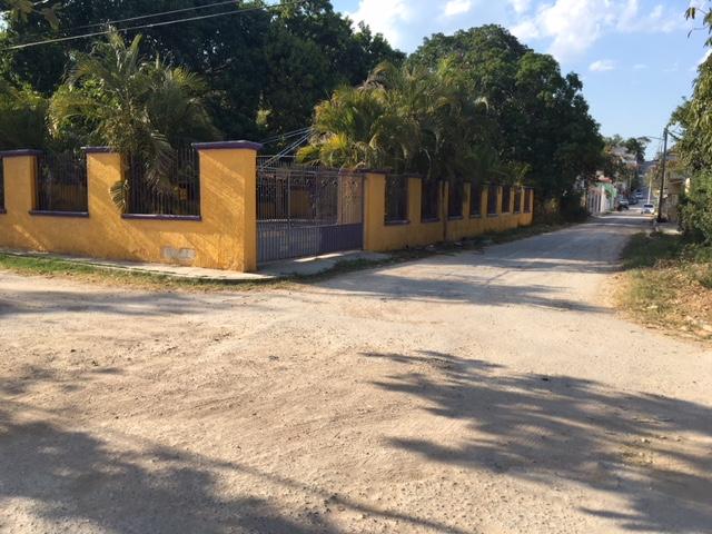 Venta sala de fiesta en esquina de la calle 16×19 colonia samula